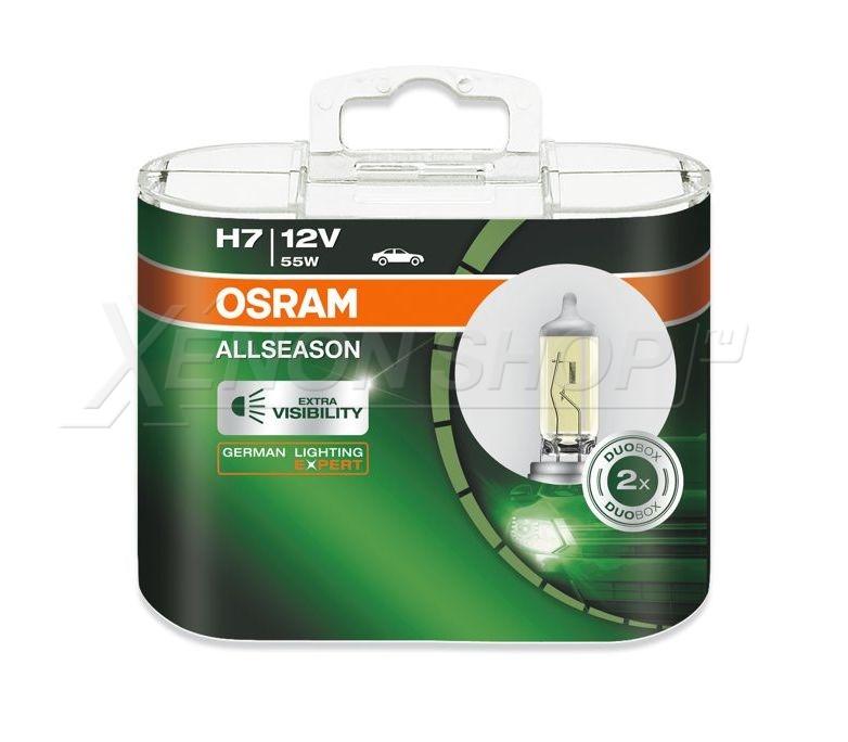 Лампы Osram Allseason Super H7 купить в XenonShop
