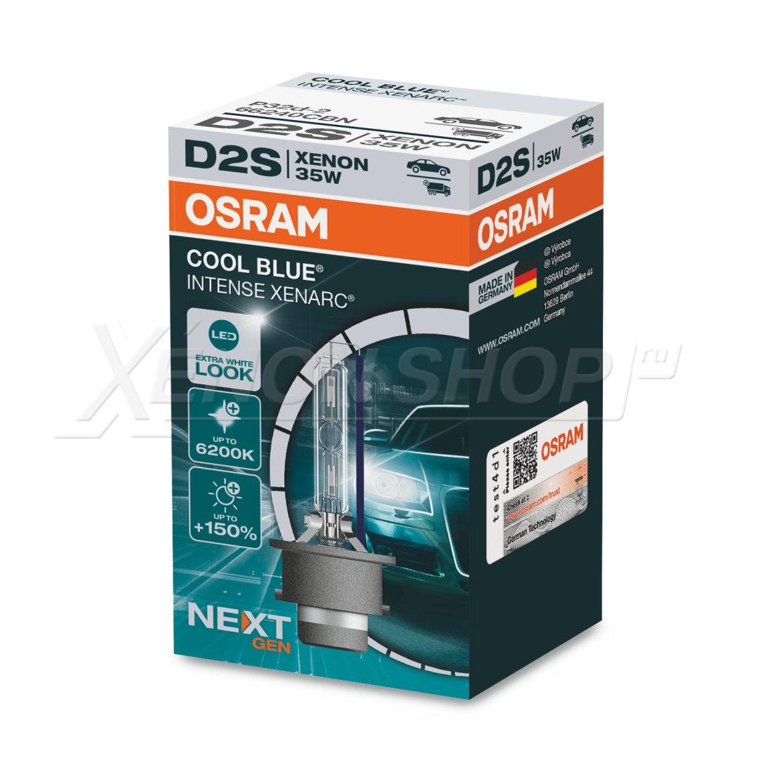 D2S Osram Cool Blue Intense Next Gen