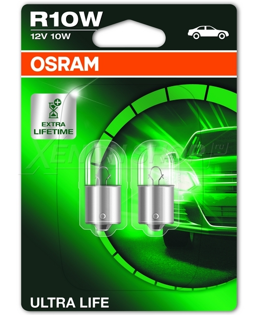 Automotive halogen bulb osram r10w (5008) original spare part