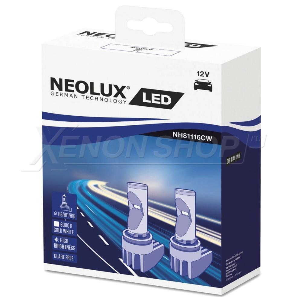 Светодиодные лампы H8/11/16 Neolux LED FOG - NH81116CW купить в XenonShop