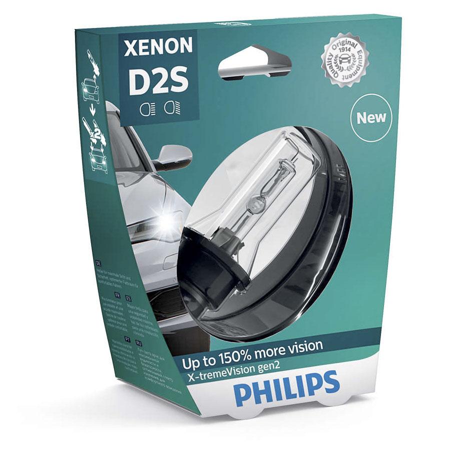 D2S Philips X-treme Vision Gen2 (+150%) - 85122XV2S1
